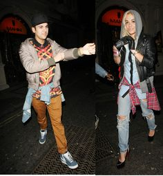 Rob K and Rita Ora