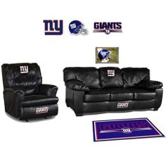 Use this Exclusive coupon code: PINFIVE to receive an additional 5% off the New York Giants Leather Furniture Set at SportsFansPlus.com