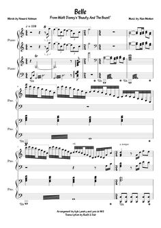 Sheet music made by realXdub for 2 parts: Piano