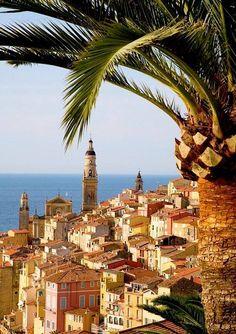 Menton, Provence-Alpes-Cote d'Azur, #France