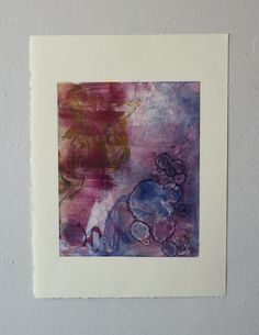 A personal favorite from my Etsy shop https://www.etsy.com/listing/268907946/colorful-abstract-monotype