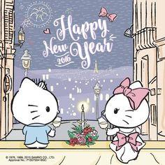 Hello Kitty & Dear Daniel #HappyNewYear ヾ(@⌒ー⌒@)ノ