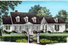 Spacious Cape Cod Home Plan