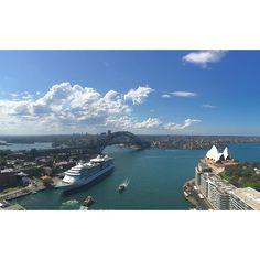 V I E W  F R O M  T H E  T O P // A M P  B U I L D I N G // S Y D N E Y  O P E N  #sydney #sydneyisopen #sydneylocal #ampbuilding #sydneyharbour #operahouse #sydneyoperahouse #sydneyharbourbridge #harbourbridge by ryan_peter http://ift.tt/1NRMbNv