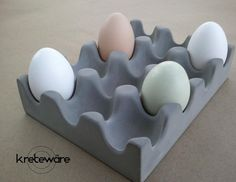 Hey, I found this really awesome Etsy listing at https://www.etsy.com/listing/157308171/concrete-egg-tray-for-table-counter