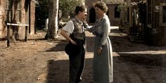 Old photos brought to life with color by Reddit users. This one is Helen Keller meeting Charlie Chaplin... several others are in the link.