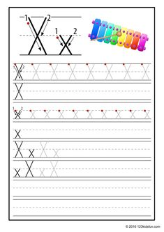 FREE Tracing Worksheet for Kids. Education Craft and Worksheet for Preschool,Toddler and Kindergarten. Learn to write the alphabet with 123 Kids Fun. Free Printable Alphabet Worksheets, Alphabet Writing Worksheets, Alphabet Writing Practice, Alphabet Tracing, Preschool Writing, Alphabet For Kids, Tracing Worksheets, Alphabet Book, Alphabet Activities