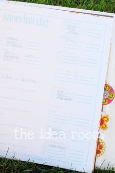 The Mom Planner and Clean Mama Giveaway - The Idea Room