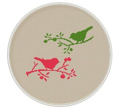 Bird Cross stitch pattern cross stitch PDF by MagicCrossStitch