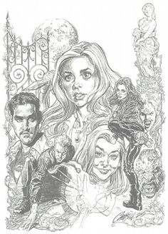 Buffy Chaos Bleeds Cover Pencils