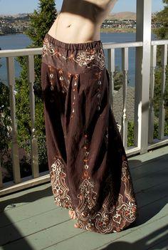 Buy Turkish Delight Pantaloons at Wish - Shopping Made Fun Gypsy Style, Boho Gypsy, Bohemian Style, Boho Chic, My Style, Tribal Style, Tribal Fusion, Boho Fashion, Fashion Outfits