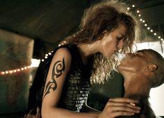 Make Love, Not War - Photographer: Steven Meisel Vogue Italia September 2007 - Models: Raquel Zimmermann
