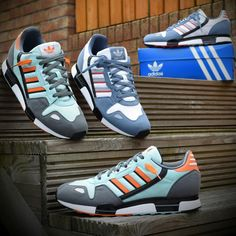 One of the most iconic runners of the 80's. The adidas ZX800 was one of the first shoes to be worn by Athletes and Celebrities alike. Rocke...