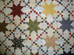 stars and double 9 patch