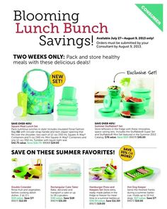 Two week sale! Get these amazing deals while you can! Contact me to place your order!!