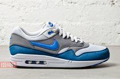 "new concept d8e03 5e944 Nike Air Max 1 Essential – ""Prize Blue"" http   www."