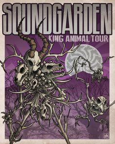 #Soundgarden Poster by Fernando Martín Antón on CreativeAllies.com