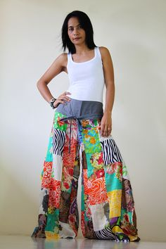 Boho Patchwork pants
