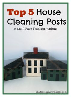 5 posts that offer tips on how to tame clutter, clear out your wardrobe, catch up on your house work fast, how to store homemade laundry soap and clean you oven naturally.