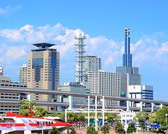 Colorful Kobe Meriken Park #Kobe #Japan