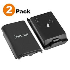 Insten 2Pack Battery Pack Cover Shell Case Compatible With Microsoft Xbox 360 Wireless Controller Black * Read more  at the image link.Note:It is affiliate link to Amazon.
