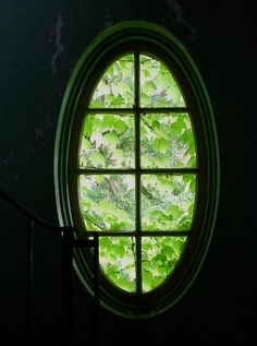 A beautiful cafeteria window was thought to be comforting to a patient at the lunatic assylum in Northampton. I wonder how comforting it was from the inside.