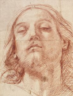The Head of Christ, 1620. Guido Reni (Italian, 1575-1642)    arthistory.about.com