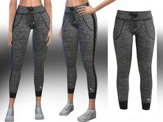 sims 4 cc // custom content clothing // the sims resource // // Saliwa's Puma Explosive Athletic and Casual Tights Sims 3, Sims 4 Mods, Sims 4 Tsr, The Sims 4 Pc, Sims 4 Game Mods, Sims Four, Pants Adidas, Pelo Sims, Sims 4 Update
