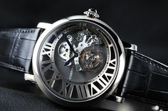 Rotonde de Cartier Cadran Lovee Tourbillon watch