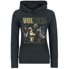 "Felpa donna ""Seal The Deal & Let's Boogie"" dei #Volbeat."