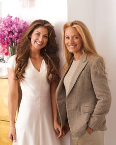 Dylan Lauren and her mom, Ricky