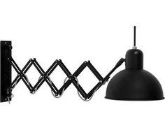 Wandlamp Aberdeen - Mat Zwart - IJzer - It's About RoMi