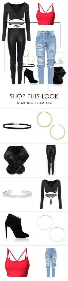 """""""Bad Boy"""" by my-style-xo ❤ liked on Polyvore featuring BillyTheTree, BaubleBar, Jeanne Simmons, Alexander McQueen, Maison Margiela, Boohoo, Chloe Gosselin, Design Lab, LE3NO and music"""