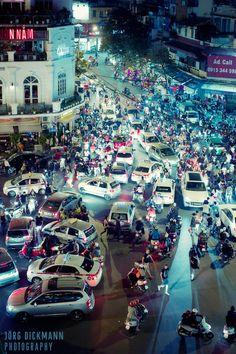 Hanoi Traffic - Vietnam