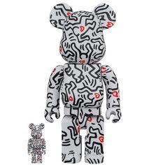 Keith Haring 8th Ver. 100% + 400% Bearbrick Set (OCT2021) #haring #keithharing #bearbrick #medicom #8thversion #fatsuma #bearbrick400 #collectible #toy #designertoy #vinyltoy #arttoy #instagood #beautiful #love #art #fashion #new Keith Haring, Keith Allen, Pop Art Artists, Dragon Comic, Street Culture, Halloween Town, Classic Films, Jack Skellington, Box Art