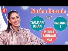 Warina Hussain opens up on working with Salman Khan in the peppy track Munna Badnaam Hua from Dabangg Watch the interesting conversation right here. Interesting Conversation, Salman Khan, Confessions, Bollywood, Youtube, Youtubers, Youtube Movies