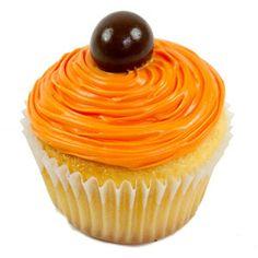 Cupcake de Vainilla con naranja