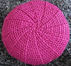 Crochet with Hoooked Zpagetti. Ganchillo con trapillo Hoooked Zpagetti.
