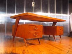 Office decor inspirations for your next interior design project. Check more midcentury pieces at http://essentialhome.eu/