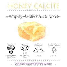 Soul Sisters Designs Free resources with metaphysical healing properties of Honey Calcite, including Zodiac, Element, Chakra and Crystal Lattice/System Crystals Minerals, Crystals And Gemstones, Stones And Crystals, Gems And Minerals, Diy Crystals, Crystal Healing Stones, Crystal Magic, Crystal Grid, Honey Calcite