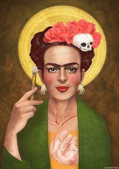 Elin Sandström - Saint Frida Kahlo