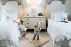 How sweet is this scene ! phillips , we love seeing your little ones in TBBC and their room is real cute! jackkeenejonjon talbotttieside beaufortbonnet monograms bedroomdesign is part of Kid room decor - Teen Girl Bedrooms, Big Girl Rooms, Boy Room, Kids Rooms, Kid Spaces, Turquoise, Amazing, Beautiful, Bedroom Decor