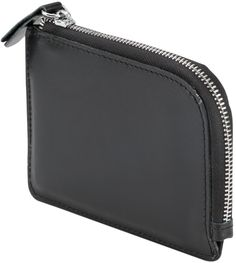 Coin Wallet, Mens RFID Blocking Leather Zipper Wallet Credit Card Holder Case