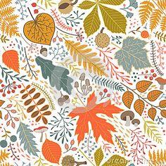 Fall Background Wallpaper, Plant Wallpaper, Fall Wallpaper, Background Patterns, Cute Backgrounds, Wallpaper Backgrounds, Watercolor Pattern, Floral Watercolor, Surface Pattern Design