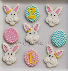 Easter cookies - Kookie Kreations by Kim