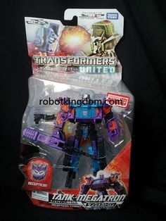 takara transformers united un25 thunder megatron #transformer