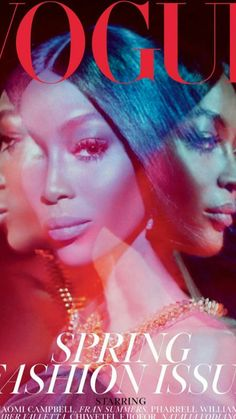 Supermodel Naomi Campbell graces the March 2019 cover of Vogue UK. Lensed by Steven Meisel, the face of Nars Cosmetics wears a Burberry top in the psychedelic… Vogue Uk, Vogue Paris, Vogue Fashion, Vogue Korea, Vogue Covers, Vogue Magazine Covers, Paper Magazine Cover, Magazine Collage, Steven Meisel