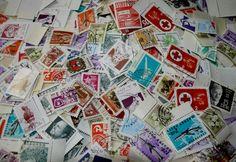 200 sztuk znaczków  - Świat