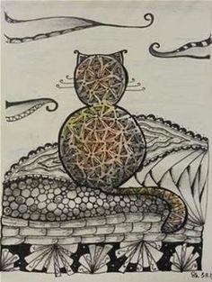 cat zentangles - Bing Images