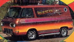 Ford Econoline these Vans are cool, I feel like eatin' some Scooby snacks...........ha